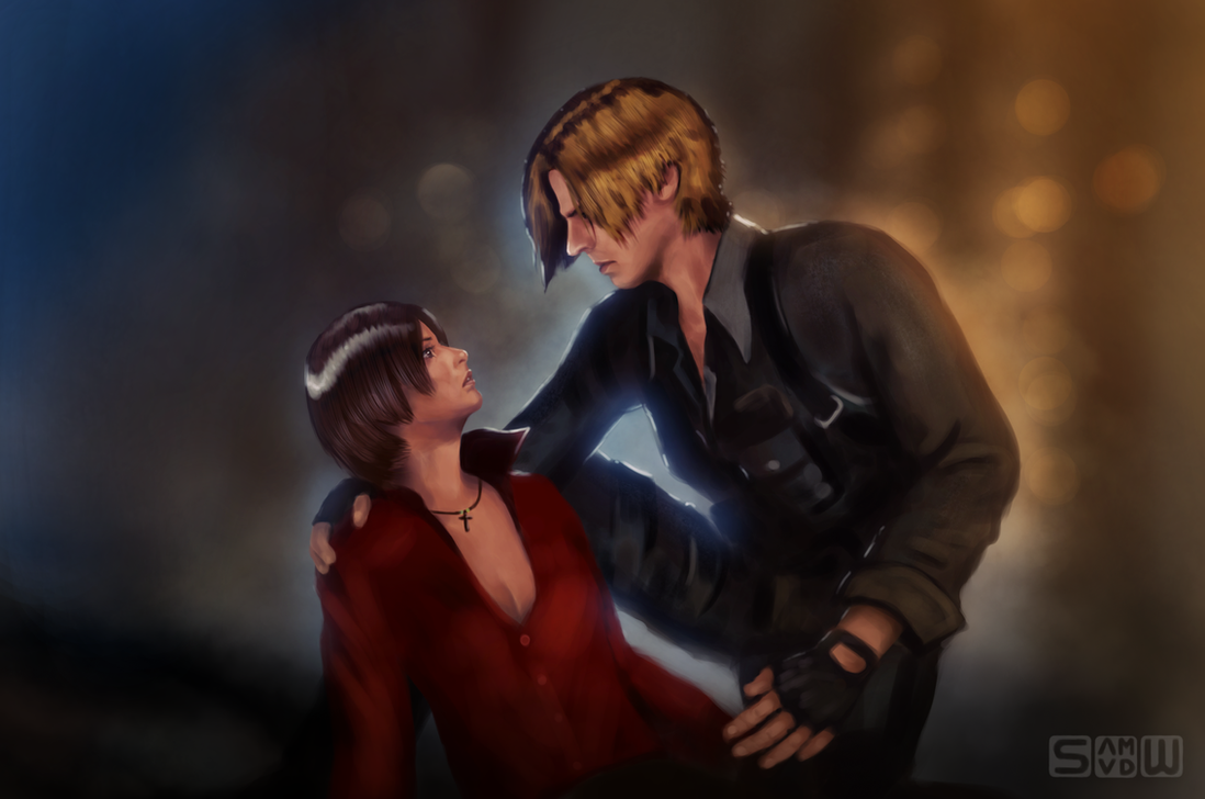Ada and Leon Resident Evil 6 by Br0ny