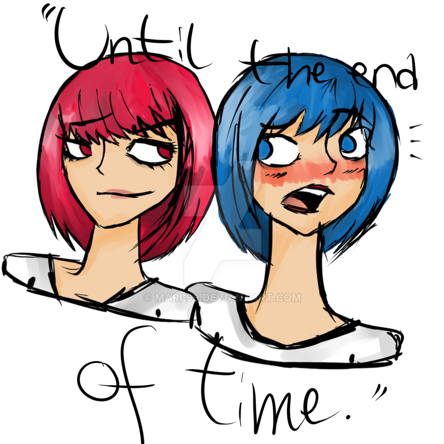 Red and Blue by Mari-99