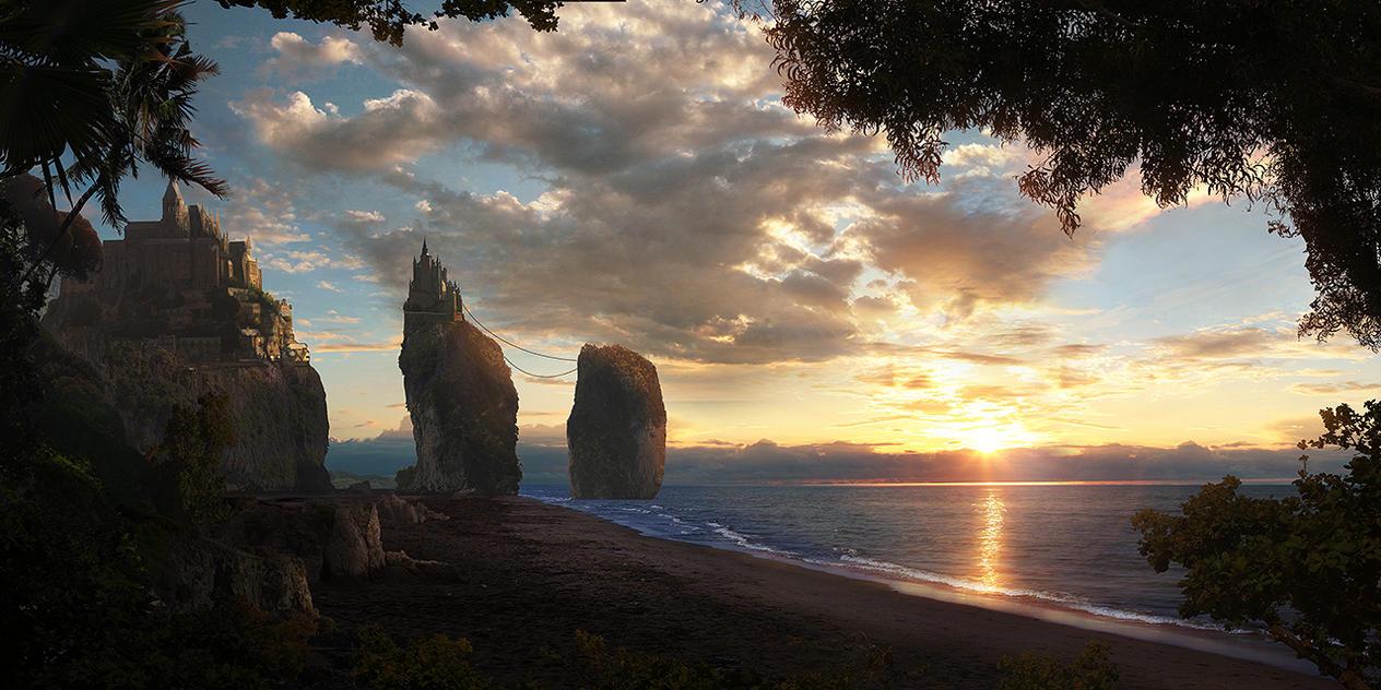 Castle Rock by misterCromat