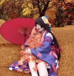 COSPLAY-onmyoji-Kijyo Momiji by mirrorflowertw