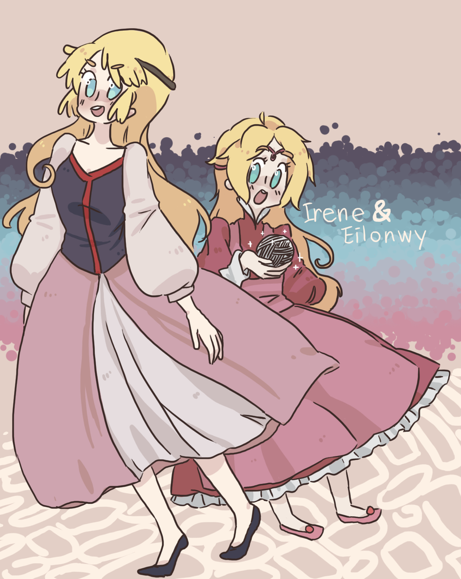 Irene and eilonwy by jessilvania on deviantart irene and eilonwy by jessilvania irene and eilonwy by jessilvania altavistaventures Image collections