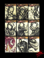 Spidey, Venom and Carnage ... by Shadowgrail