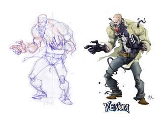 Venom unleashed by Shadowgrail