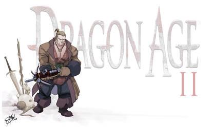 DA2 Varric the dwarf by Shadowgrail