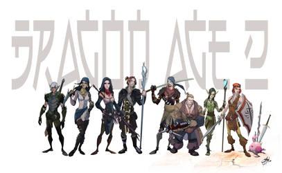 DA2 new line-up by Shadowgrail
