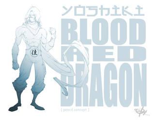 BLOOD RED DRAGON by Shadowgrail