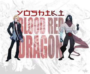 YOSHIKI the BLOOD RED DRAGON