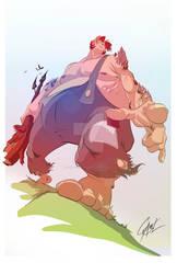 Creatures concept HillGiant ColorsCs