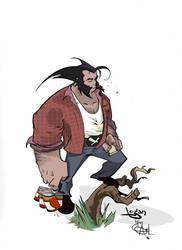 Logan Colored... by Shadowgrail