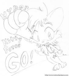 Hyper Kitty Force GO