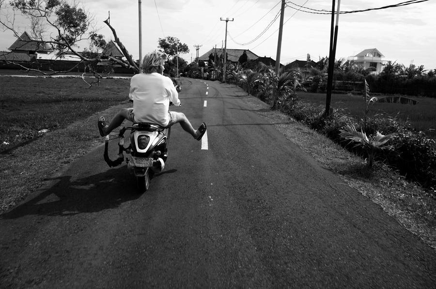 Canggu scooter day. by JonazH10