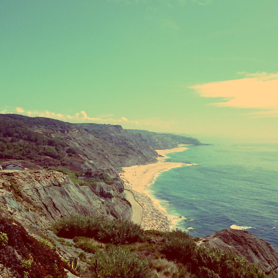 Coast of Portugal by JonazH10