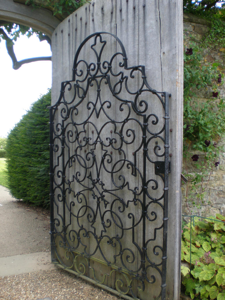 Wooden Gate Wall Decor : Wooden gothic gate by gardendesign on deviantart