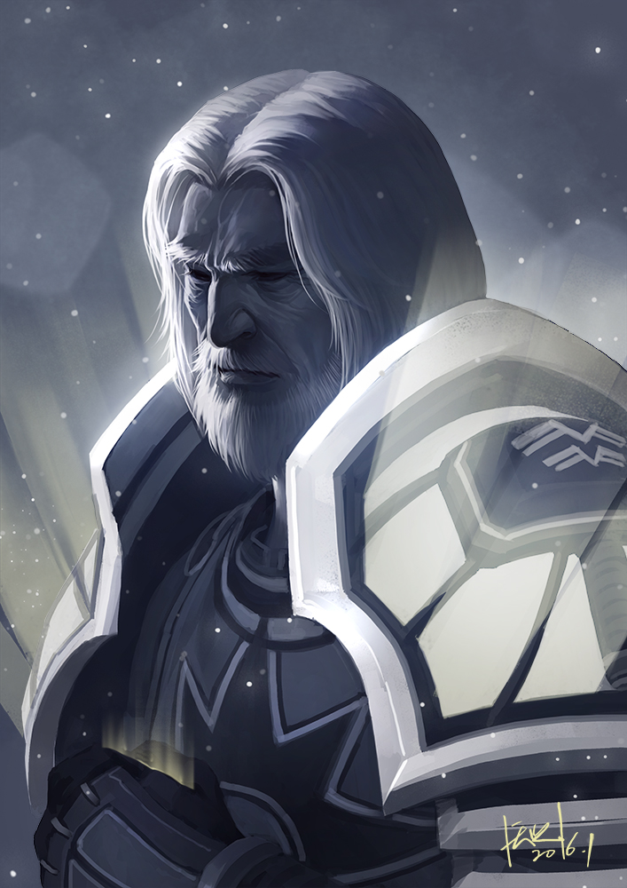 Tirion Fordring by shawnfox520