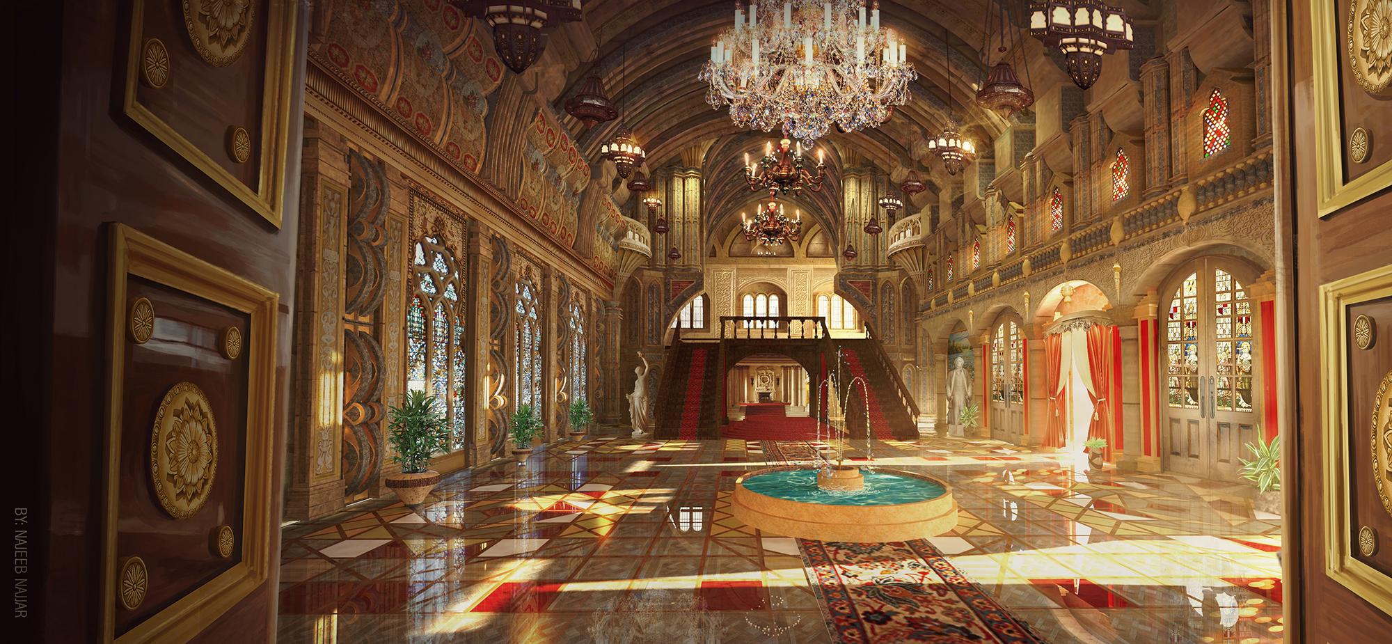 palace by Najeeb-Alnajjar on DeviantArt