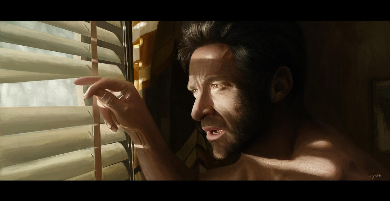 Hugh Jackman by Najeeb-Alnajjar