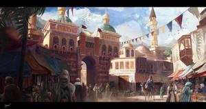 Persia 1912 by Najeeb-Alnajjar