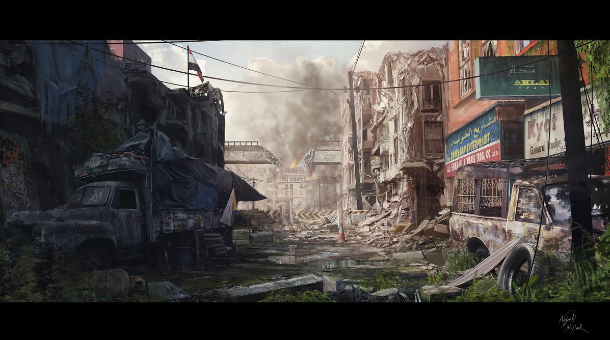 War by Najeeb-Alnajjar