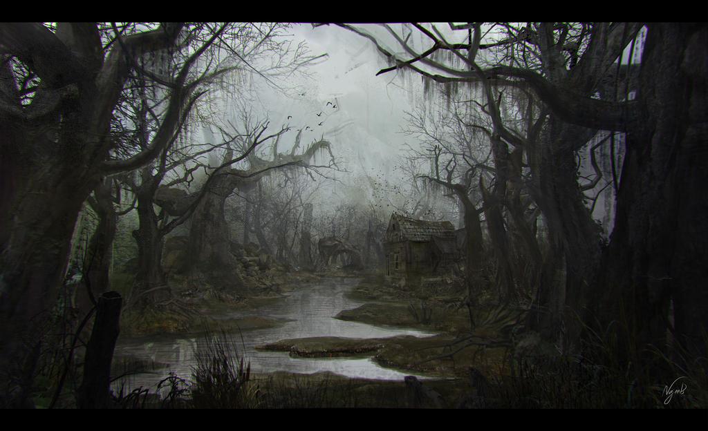 Eerie Environment by Najeeb-Alnajjar