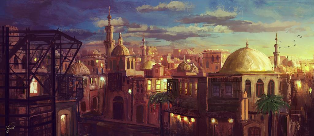 al-Andalus by Najeeb-Alnajjar