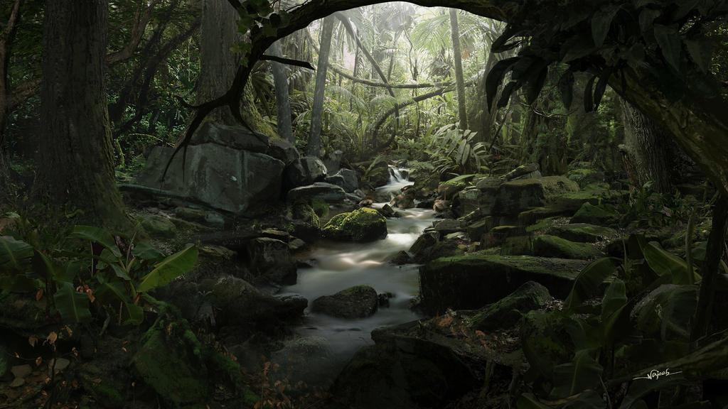 Forest by Najeeb-Alnajjar