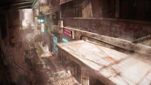 Cyber Alleyway Top