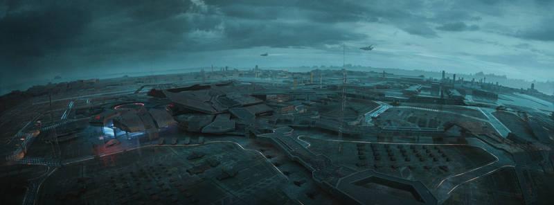 Sci Fi Airport -1