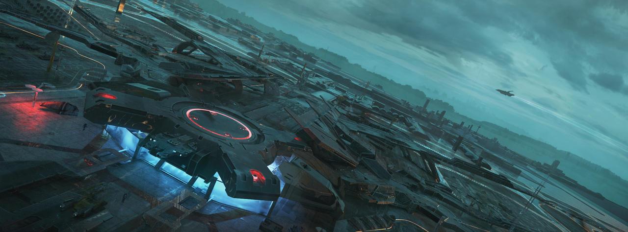 Sci Fi Airport -3