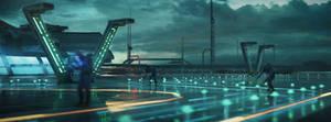 Sci Fi Airport -4