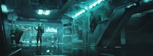 Sci Fi Airport -9