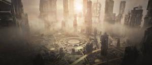 sci fi cityscape 2