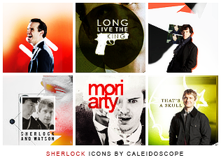 Sherlock Icons by thestarwhales
