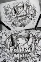 Follow Me Doodle by LeiMelendres