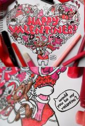 Valentine Doodle by LeiMelendres
