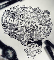 Doodle: Make Me STFU by LeiMelendres