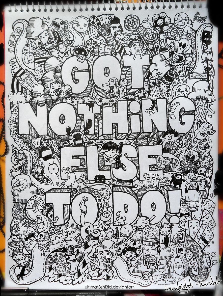 Doodle: Got Nothing Else to Do