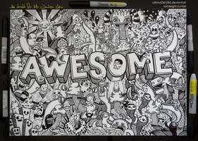 Commissioned Doodle: AWESOME