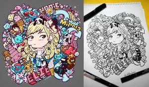 Doodle Blondie