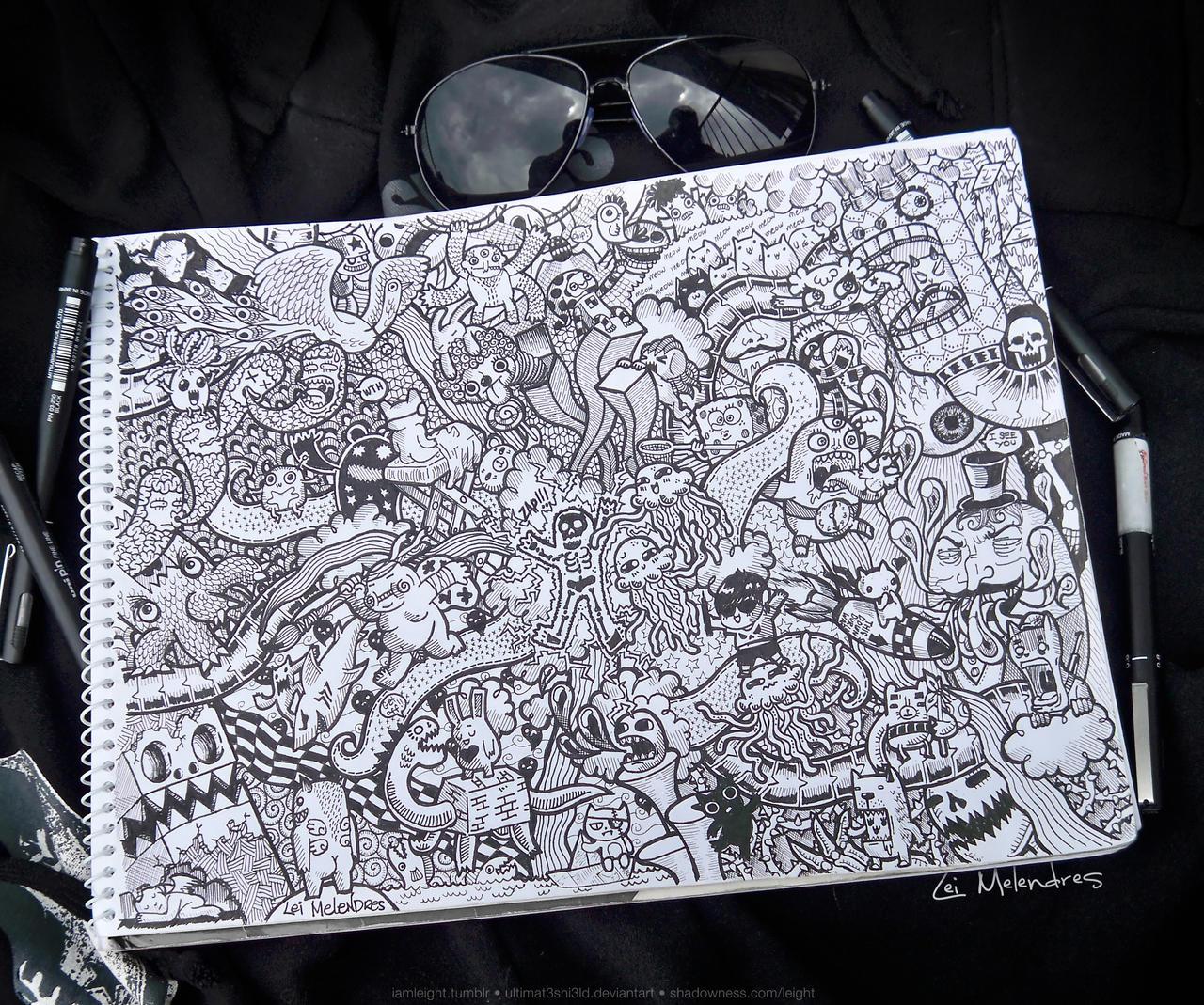 Doodle: Underworld by LeiMelendres