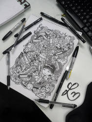 Doodle Pens by LeiMelendres