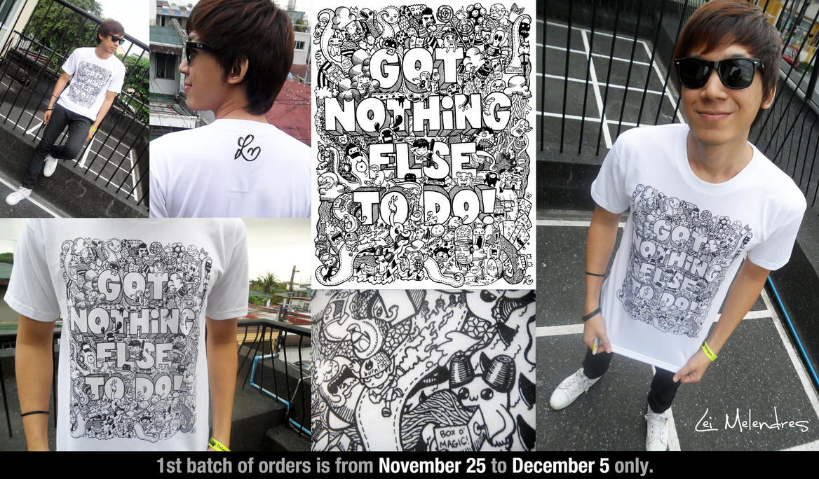 Doodle Shirts for Sale by LeiMelendres