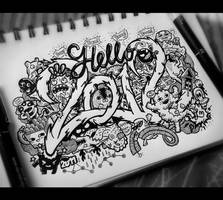 Doodle: Hello 2012 by LeiMelendres