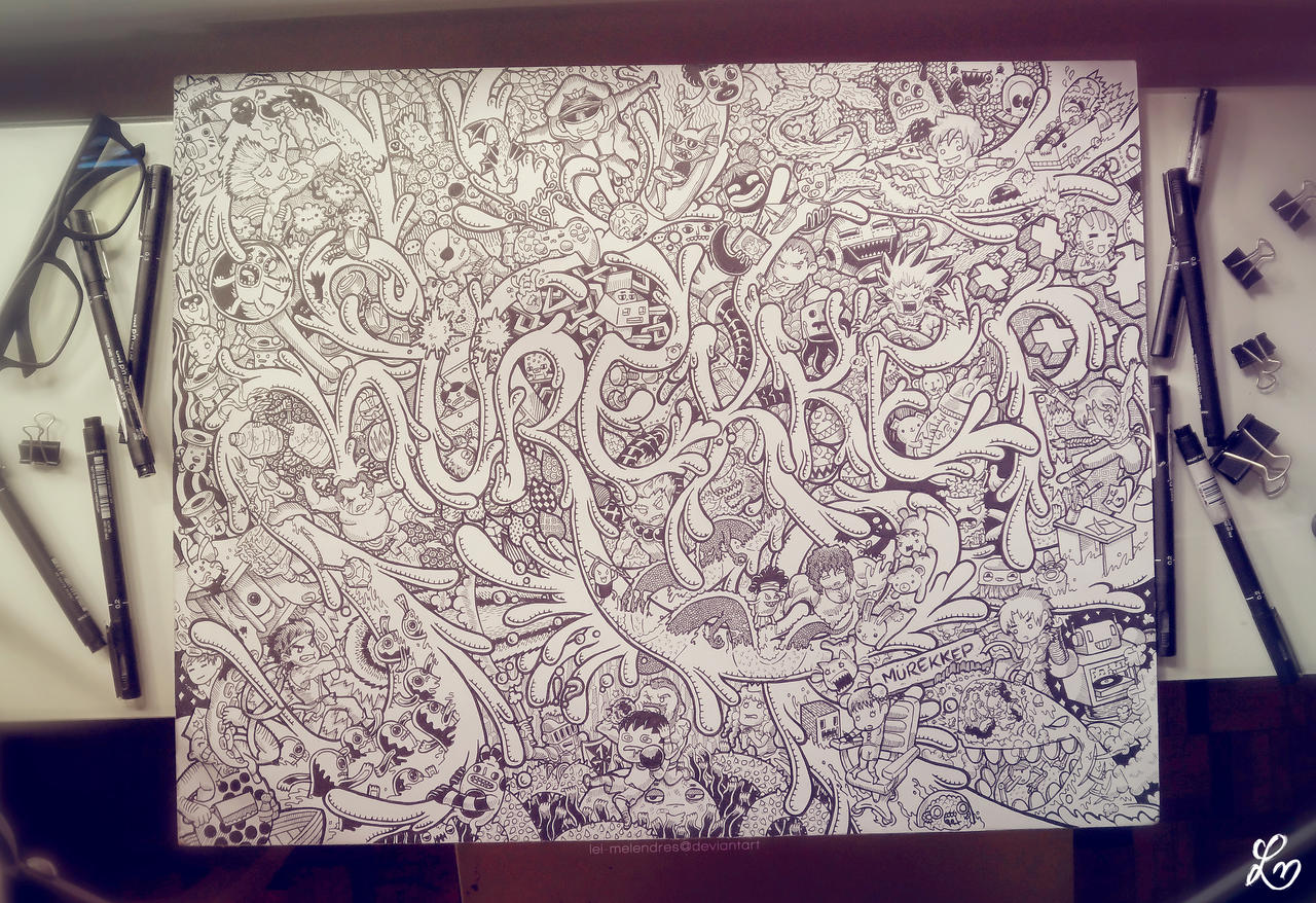 Doodle: Murekkep (Hand-drawn Version) by LeiMelendres