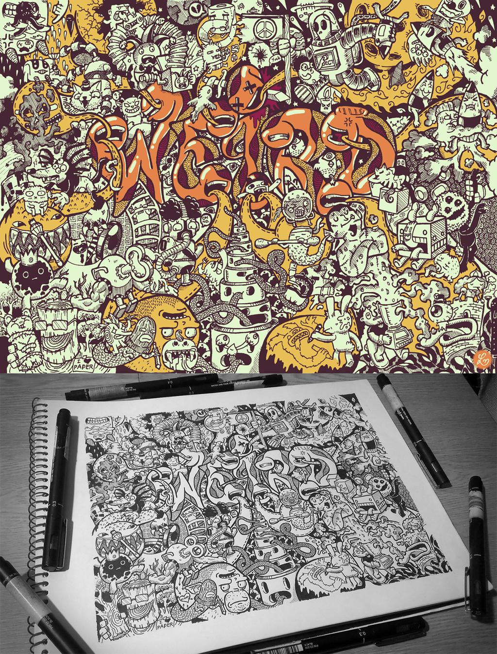 Hidden Doodles: Weird by lei-melendres