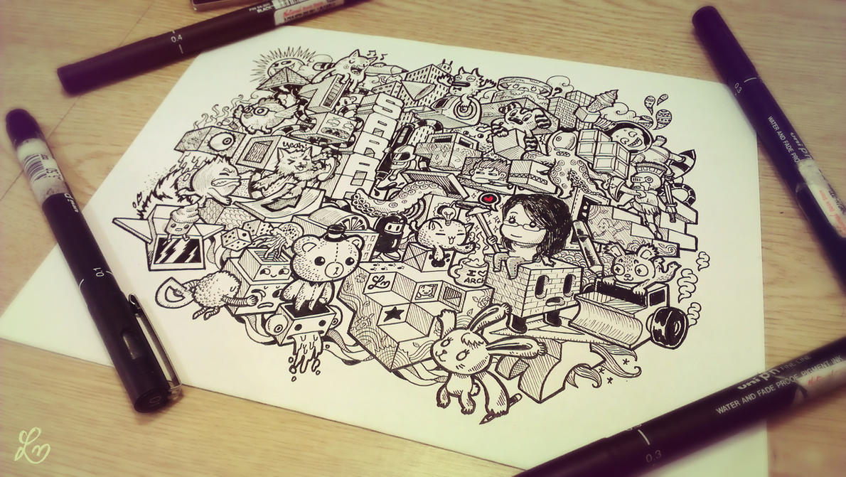 Doodle: Architectural by lei-melendres