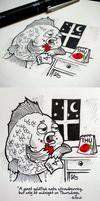 Doodle Strawberry Goldlfish