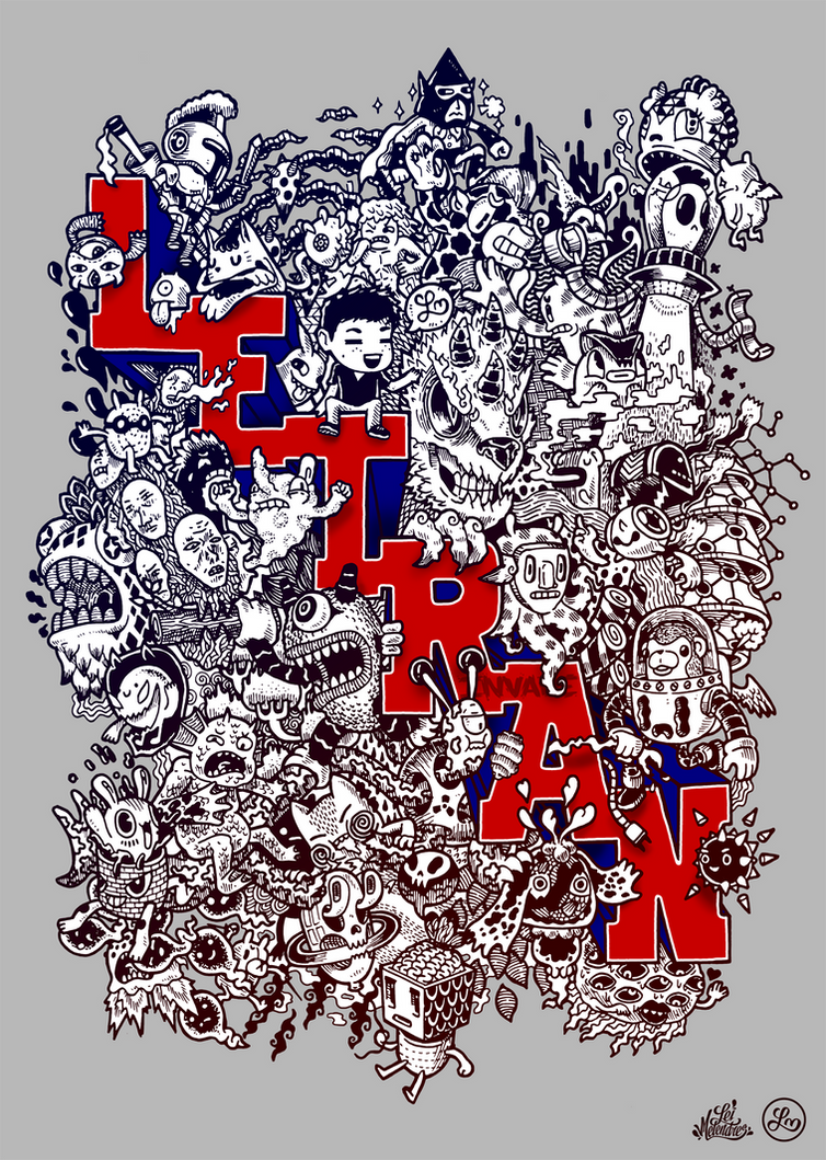 Doodle Art: Letran Invade by lei-melendres
