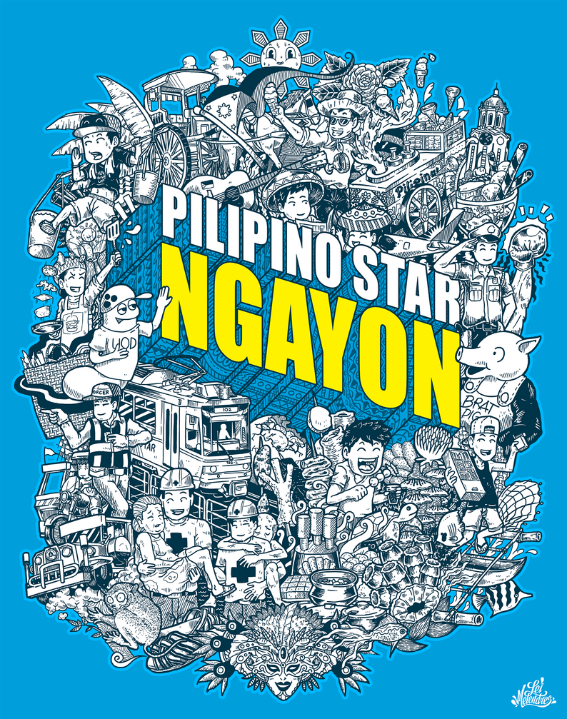 Doodle: Pilipino Star NGAYON by lei-melendres