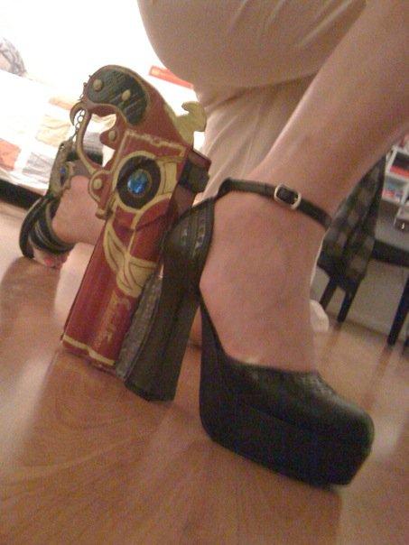 Cosplay: Bayonetta heel gun -1 by hayatecrawford