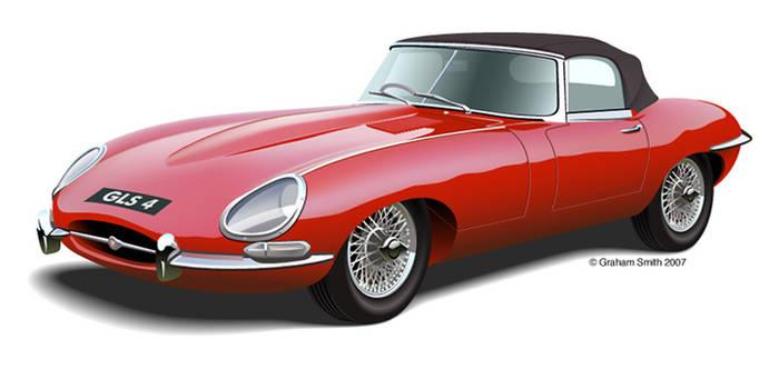 E Type Jaguar
